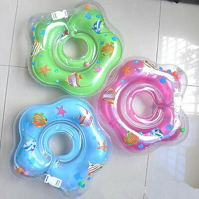 New Safety Infant Swimming Neck Float Ring Cute Bath Swim Pool Beach Float Ring