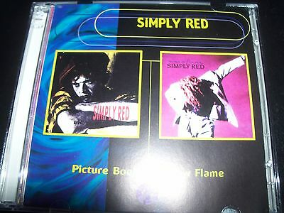 Simply Red Picture Book & A New Flame Australian 2 CD