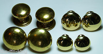 Lot Of 4X Pairs Antique Styled Brass Chest/drawer/door Handle Knobs
