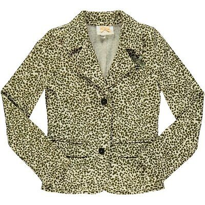 S&D Le Chic girls animal print jacket age 5/6 years