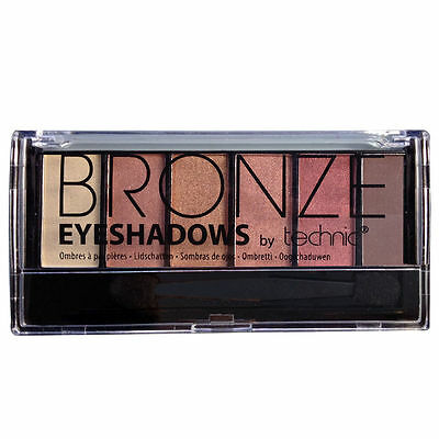 Technic Bronze 6 Colour Eyeshadow Palette