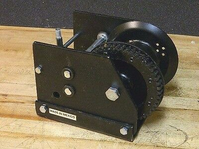 Fulton Kw30000103 Worm Gear Brake Winch 3000 lb. Pull Capacity Qty. 1