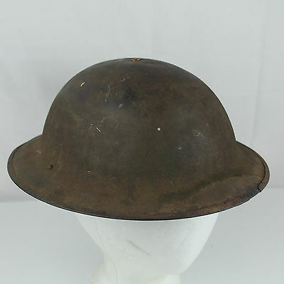 WW1 US Doughboy Helmet with Modern Liner 1910's :Antique Military VTG Prop