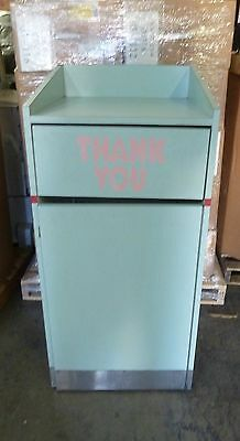 Commercial on Wheels Trash Can Restaurant Tray Receptacle