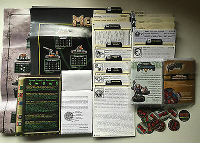 Wizkids MechWarrior Dossiers Rules Tokens Posters Promo Bags - Fast Post
