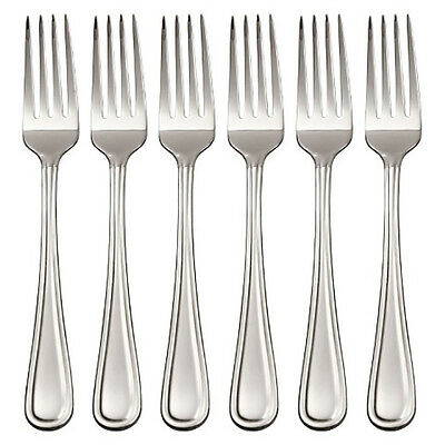 6-42psc Stainless Steel Tableware Dining Forks