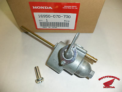 Genuine Honda Petcock With New Mounting Screw Included Beware Cheap Knockoffs