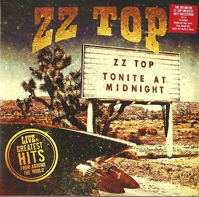 Zz Top Live Greatest Hits From Around The World Doppio Vinile Lp 180 Grammi !