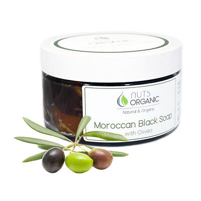 AUTHENTIC MOROCCAN BLACK SOAP / BELDI / SAVON NOIR FOR SPA & HAMMAM 250g