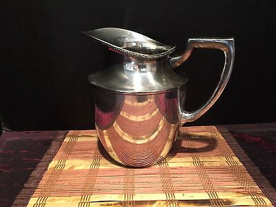 Vintage Benedict, Period Plate Georgian EPNS BMM 1858 Water Pitcher