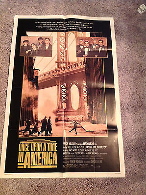 ONCE UPON A TIME IN AMERICA 1984 Theatrical Original Movie Poster NSS 840048