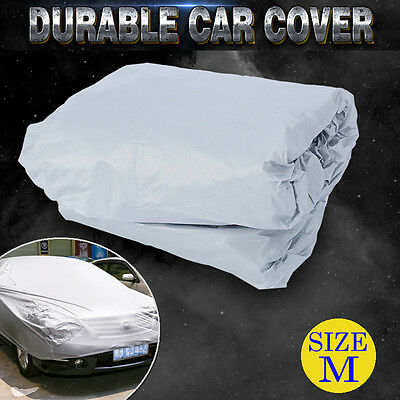 M Universal Large Full Size Car Cover Sun Resistant UV Protection Anti-Scratch
