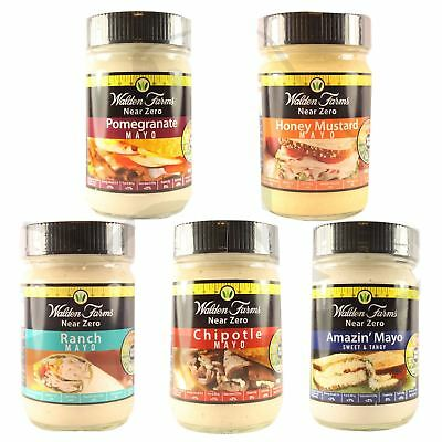 Walden Farms Near Zero Calorie Mayo Mayonnaise Carb Free Fat Free