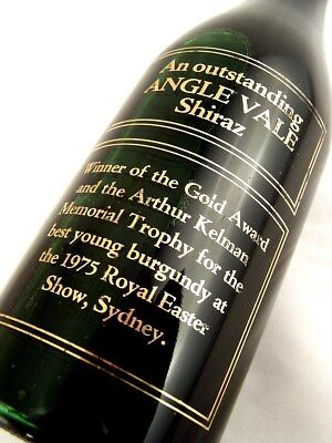 1974 ANGLE VALE Shiraz D Isle of Wine