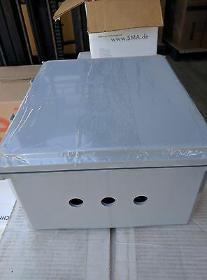 "14""x12""x6""  IP68 junction / project / pull box with aluminum plate"