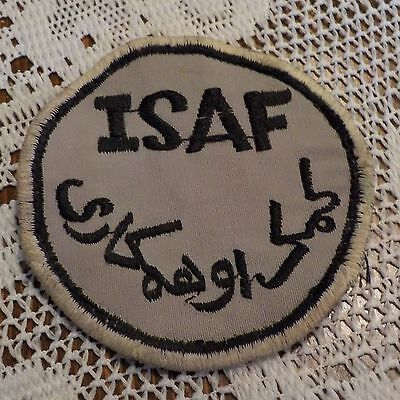 Afghanistan ISAF Airforce Patch Applique Crest