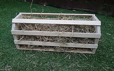 (New Large Design)  Hay Rack For Rabbits/guinea Pigs (Comes Ready Assembled)
