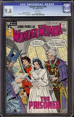Wonder Woman # 194 CGC 9.6 White (DC, 1971) Dick Giordano cover and artwork