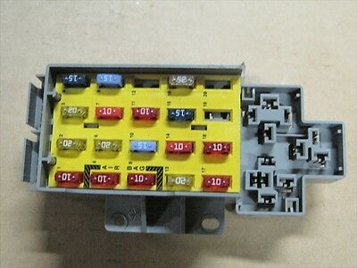 2001 2002 dodge neon oem inner fuse box (check layout)