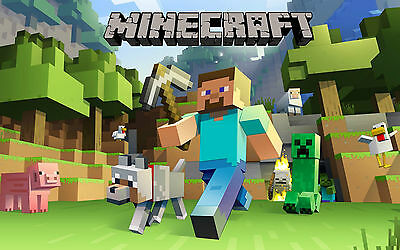 Minecraft Poster (1) - Various Sizes - Includes A Free Surprise A3 Poster