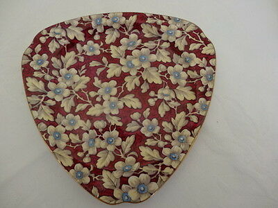 Lord Nelson Chintz, Royal Brocade, Triangular Plate, #2G