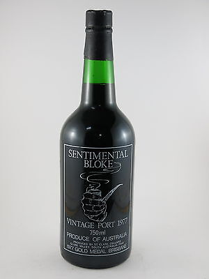 Clare Cellars Sentimental Bloke Clare Valley Vintage Port 1977 40th Gift 2017 #1