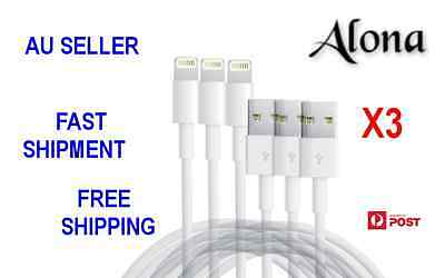 X3 1M USB Charger Cord Sync Data Lightning Cable  Compatible with Iphone 6/7
