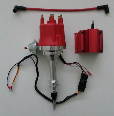Small Cap AMC/JEEP INLINE 6 232-258 6 Cylinder HEI Distributor+50,000 VOLT COIL
