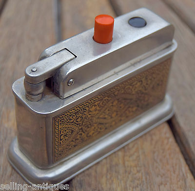 Bebe 100 Table  Lighter With Nice Motif - (Bruchhaus & Baltrusch) -1948 -Germany