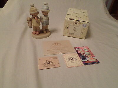 "Enesco Memories Of Yesterday ""too Shy For Words""  Mib"
