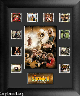 Film Cell Genuine 35mm Framed & Matted Goonies S1 Mini Montage USFC6127