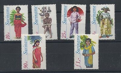 (W0551) Traditional Costumes, Surinam, Nvph 192/97, Set, Mnh/um, See Scan