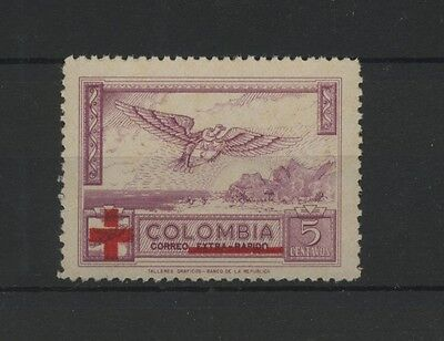 (W0628) Bird/red Cross, Columbia 1954, Mnh/um, See Scan