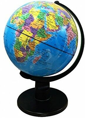 Kids Educational X-Large Swivel Globe World Atlas Map Science w/Stand Dia-30cm