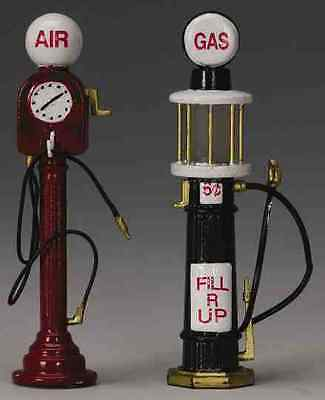 New Lemax Figurines 44177 Service Pumps Set of two