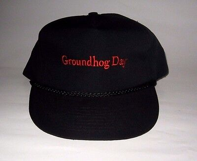 Rare Official 1993 Groundhog Day Movie Promo Hat - Bill Murray Harold Ramis