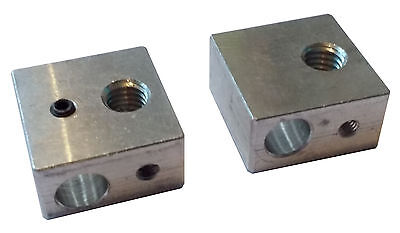 Wanhao MK9 Nozzle Block - For M6 Nozzles - Genuine Wanhao
