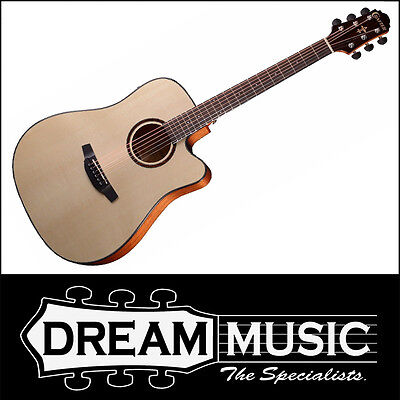 Crafter HDE-500/SN Dreadnought Body Spruce Top Acoustic/Electric Guitar RRP$599