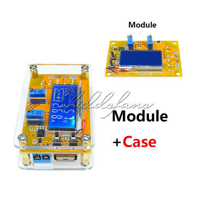 DC-DC 5A Step down power supply adjustable push-button module with LCD display