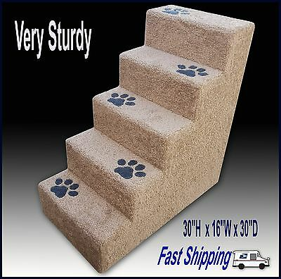 Pet Stairs.Carpeted pet steps. Dog Steps. Cat steps.