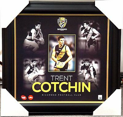 Trent Cotchin Richmond Tigers Official Afl Player Print Framed
