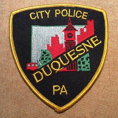PA Duquesne Pennsylvania Police Patch