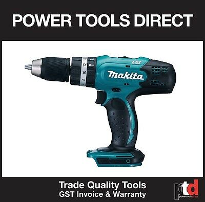New Makita Dhp453Z 18V Cordless Hammer Drill Driver Skin - 13Mm 2 Speed