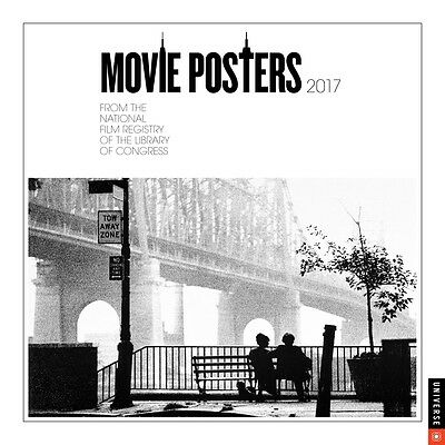 Movie Posters 2017 Wall Calendar NEW by Andrews McMeel