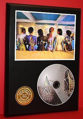 Pink Floyd Picture CD Display The Wall, Roger Waters, David Gilmour, Acid Rock