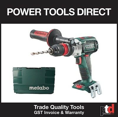 "New Metabo 18V Cordless Sb18Ltx Bl ""quick"" Brushless Impact Hammer Drill In Case"