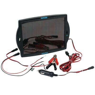 Oxford OF949 Solariser Solar Panel Motorcycle 12V Battery Trickle Charger