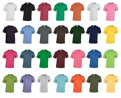 Fruit Of The Loom 5 Pack  Plain Random Mixed Colours Tee T-Shirts Unisex Bargain