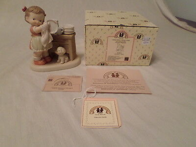 """Enesco Memories Of Yesterday """"them Dishes Nearly Done""""  Mib"""