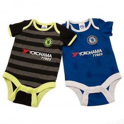 Official Licensed Product Chelsea 2 Pack Bodysuit 9 / 12 Months LN Gift Set New